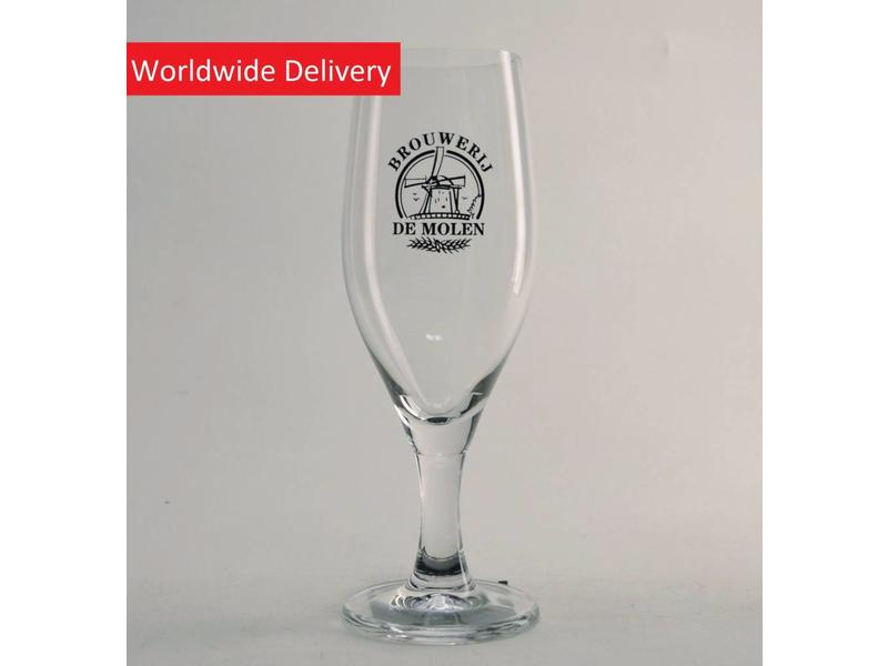 G5 Brouwerij de Molen Beer Glass - 25cl