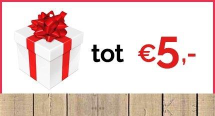 Cadeaus tot € 5,-