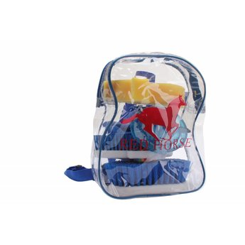 Red Horse Grooming Kit in Rugzak-Donker Blauw
