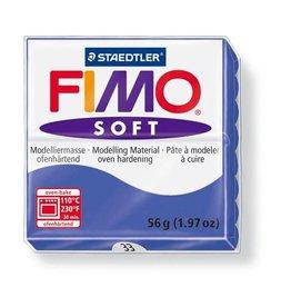 Staedtler fimo klei soft 33-brilliantblauw