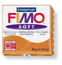 Staedtler Fimo klei soft -76 cognac