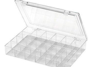 Plastic vormen/ Vakken dozen