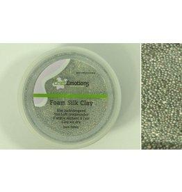 Foam ball clay zilver glitter