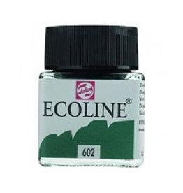 Talens Ecoline 30 ml - donkergroen