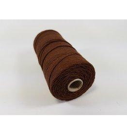 Macramé touw bruin