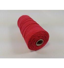 Macramé touw rood
