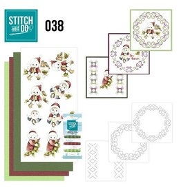 Stitch and Do borduurset Christmas children