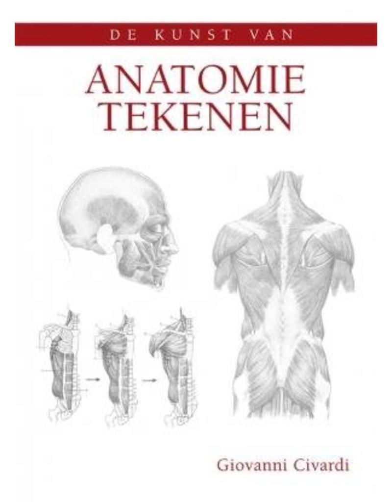 Anatomie tekenen - Boek, KBZ Kampen - KBZ-Kampen