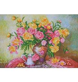 Diamond Dotz Diamond Painting pakket Elegant Roses