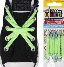 U-LACE VETERS Kiddos Bright Green