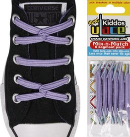 U-LACE VETERS Kiddos Lavendel
