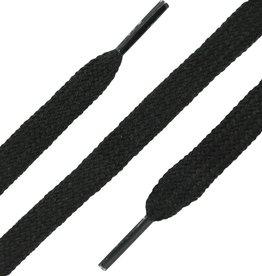 Zwart 45cm Platte Veters