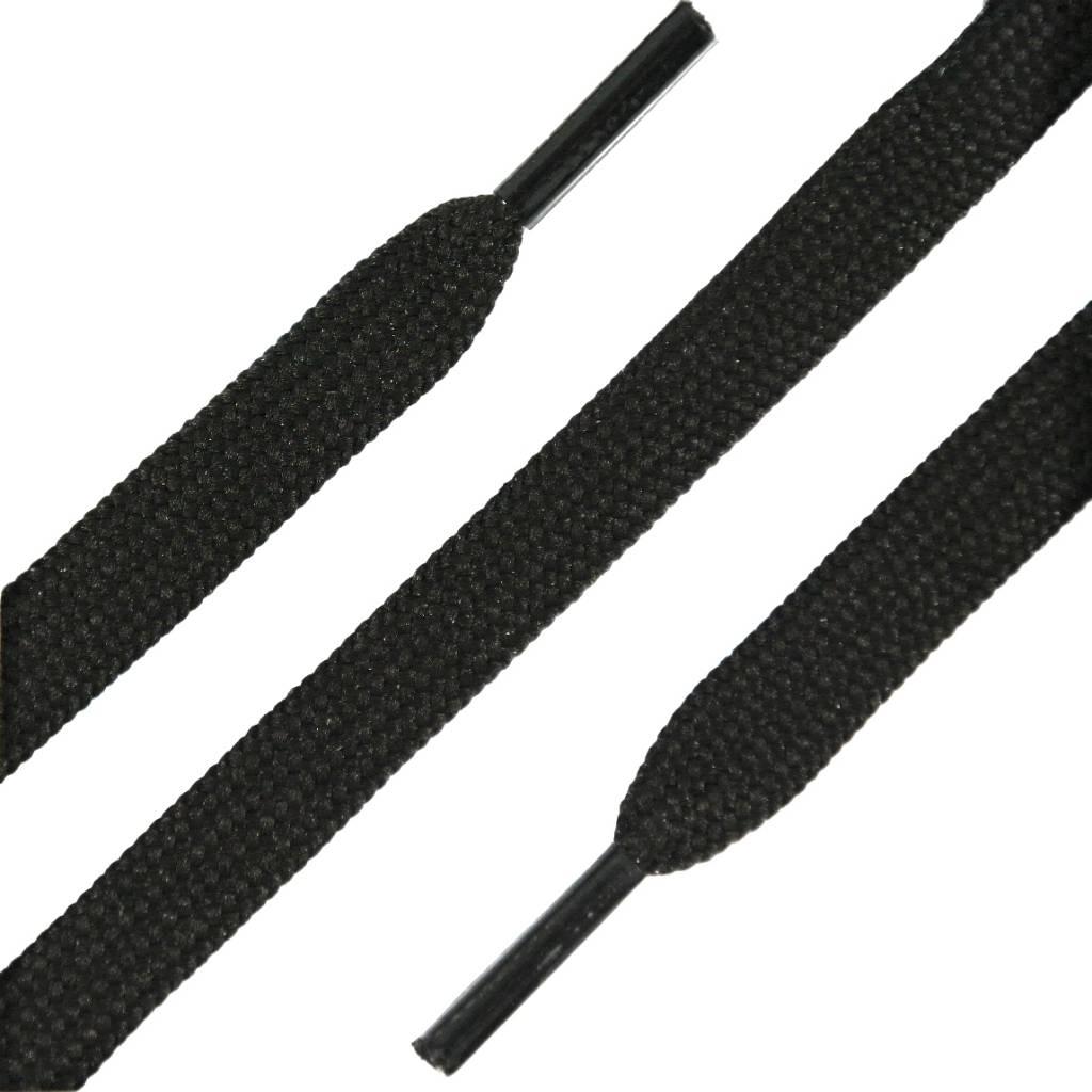 Platte Werkschoen Veters Bruin 120cm