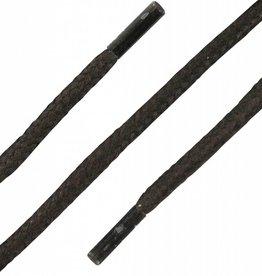 Donkerbruin Wax 75cm Dikke Ronde Veters