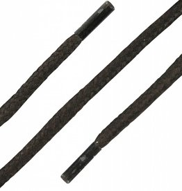 Donkerbruin Wax 120cm Dikke Ronde Veters