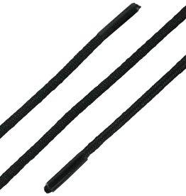 Zwart 60cm Ronde Elastische Veters