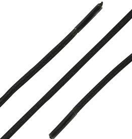 Donkerbruin 60cm Ronde Elastische Veters