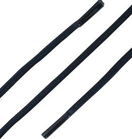 DonkerBlauw 90cm Ronde Elastische Veters