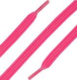 Elastische Veters plat Rose 90cm