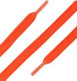 Elastische Veters plat Neon Oranje 90cm
