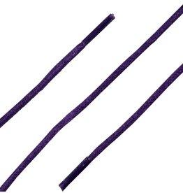 Paars 60cm Wax Veters
