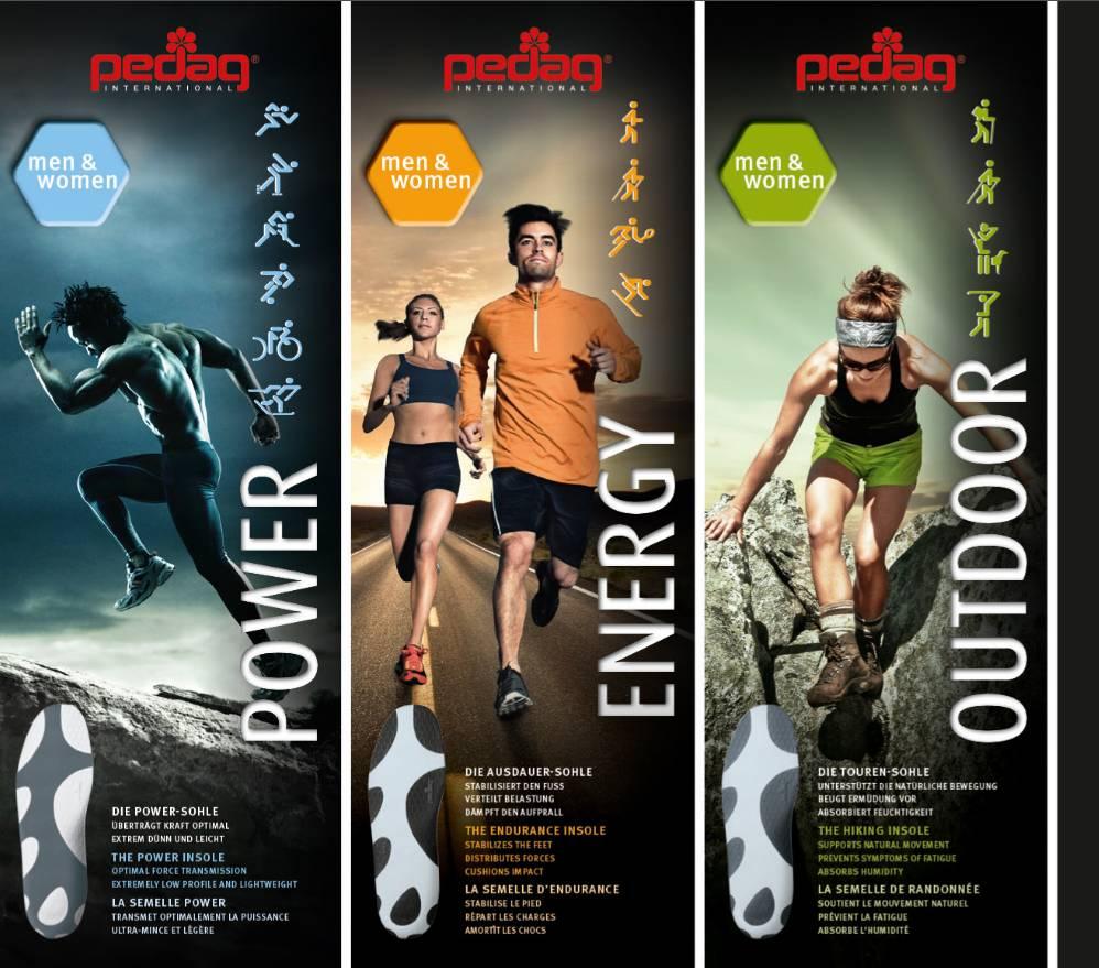 PEDAG Inlegzolen Pedag sport Energy inlegzolen