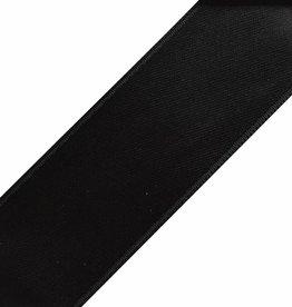 Satijnen Veters Zwart 100cm