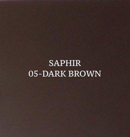 05 Saphir Crème Surfine Donkerbruin - schoenpoets