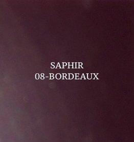 08 Saphir Crème Surfine Bordeaux - schoenpoets