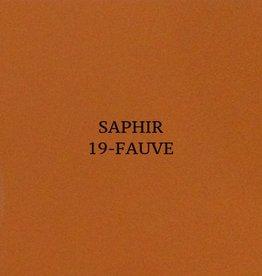19 Saphir Crème Surfine Fauve - schoenpoets