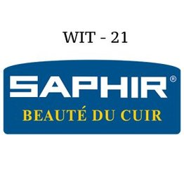 21 Saphir Crème Surfine Wit - schoenpoets