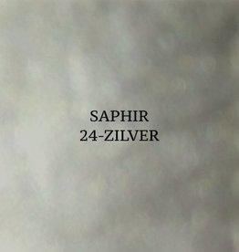 24 Saphir Crème Surfine Zilver - schoenpoets