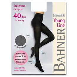Bahner Steunpanty Young Line Stripes 40 Denier