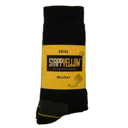 Stapp Yellow Herensokken Worker 2-Pack
