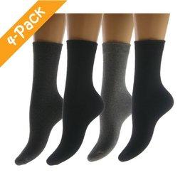Teckel Sokken Katoen 4-Pack