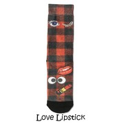 Xpooos Xpooos Damessokken Love Lipstick