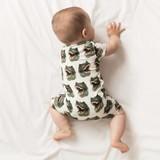 SNURK Baby Jumpsuit Dinosaurus