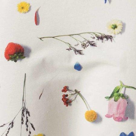 SNURK Dames T-shirt Dress Flower Fields met print van veldbloemen