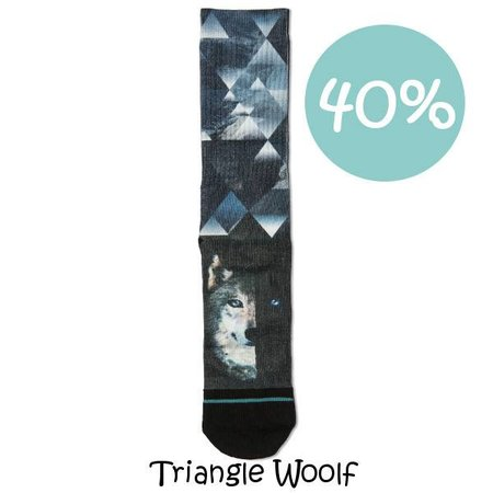 Xpooos Herensokken Triangle Woolf