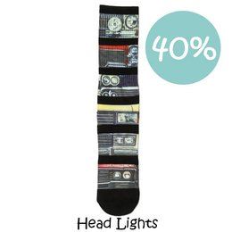 Xpooos Herensokken Head Lights