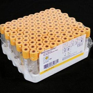 Bloedafnamebuis oranje met gel