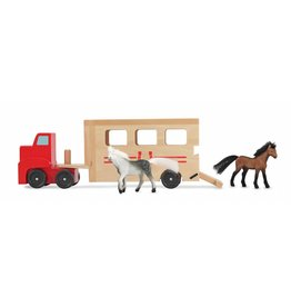 speelgoed vrachtwagen autotransporter