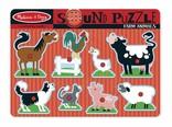 Melissa & Doug Geluiden puzzel boerderij dieren