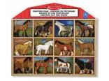 Melissa & Doug Set a 12 paarden
