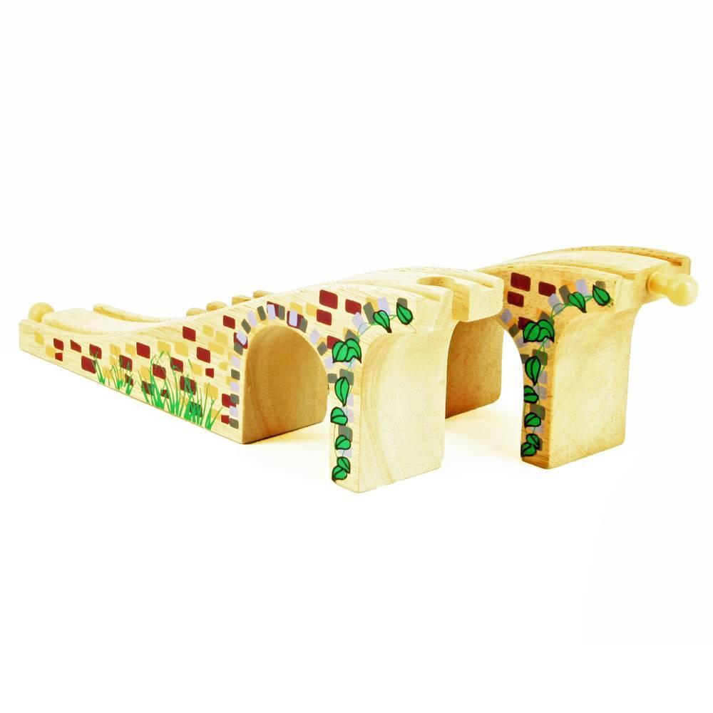 Mentari Railbrug met opdruk 34,5 x 4 cm