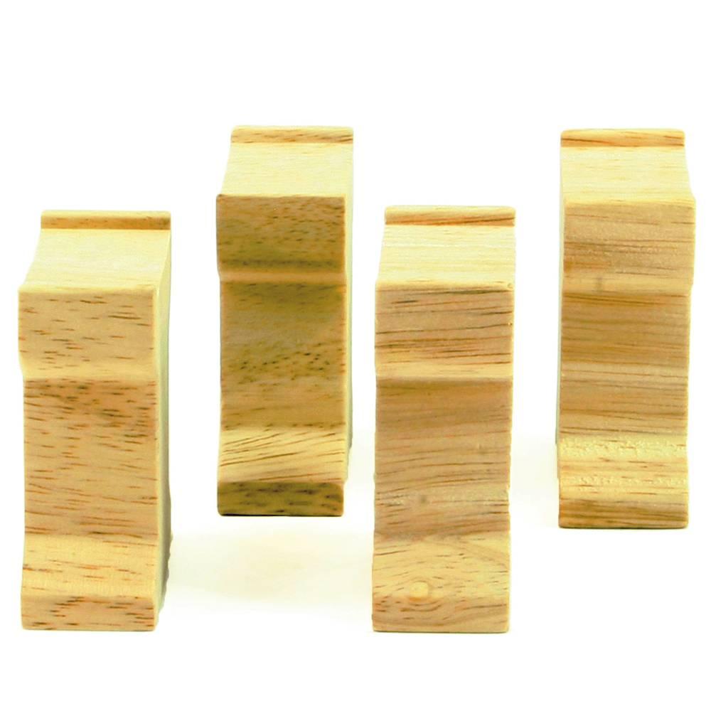 Mentari Verhogingsblok 4x (hoogte 6 cm)