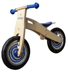 Simply for Kids Loopfiets hout blauw