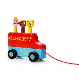 Scratch Trekfiguur circus pop-up