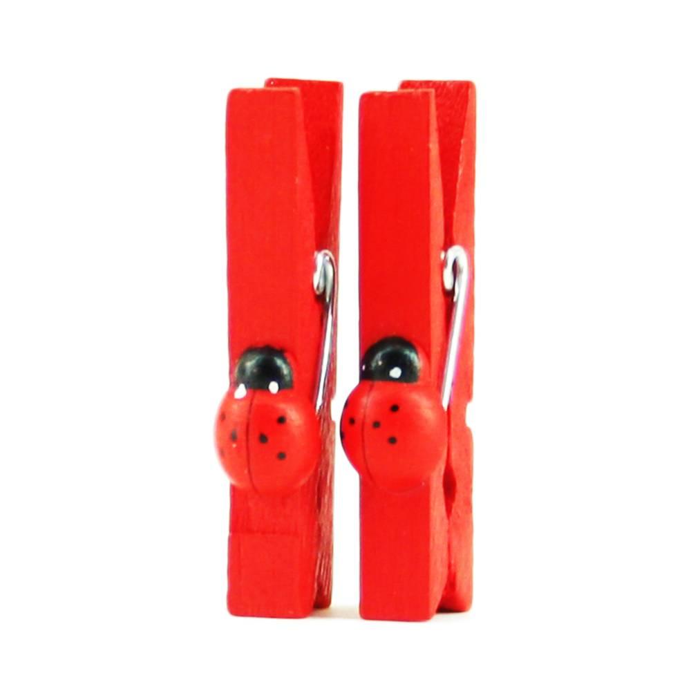 Rode wasknijpers lieveheersbeestje