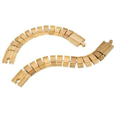 Mentari Treinrail flexibel 36,7 cm (2 stuks)